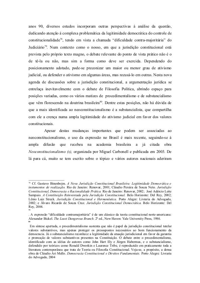 O neoconstitucionalismo no brasil 19 anos fandeluxe Image collections