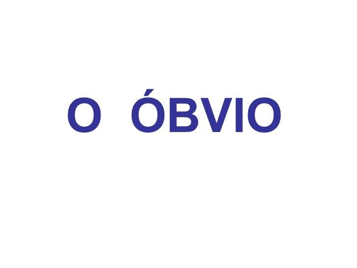 OÓBVIO