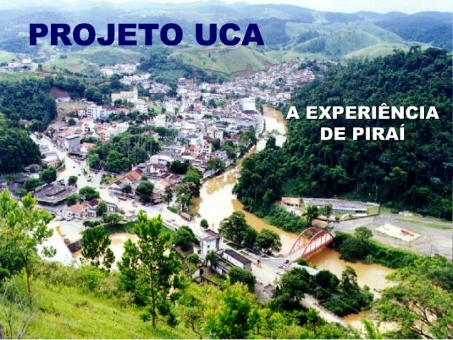 O projeto UCA em Piraí