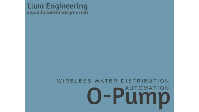  No need for personnel on pump and depot side  An uninterrupted and balanced water-flow is guaranteed  Overflows in the...