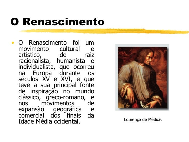 O Renascimento Slide 3