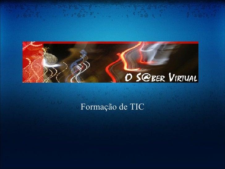 Formação de TIC