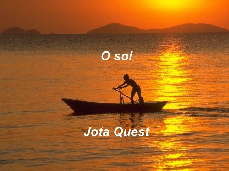 O sol Jota Quest