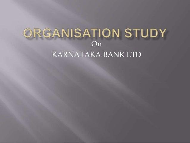 OnKARNATAKA BANK LTD