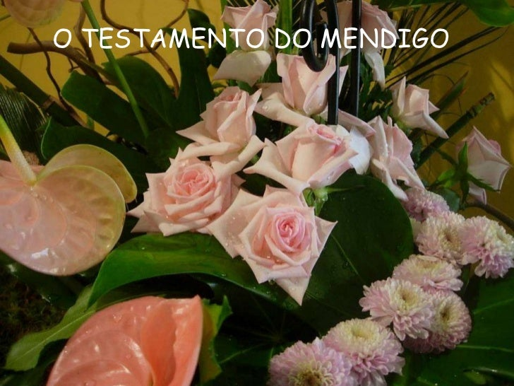 O TESTAMENTO DO MENDIGO