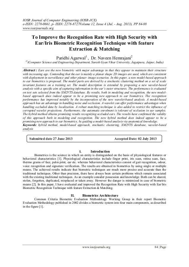 IOSR Journal of Computer Engineering (IOSR-JCE) e-ISSN: 2278-0661, p- ISSN: 2278-8727Volume 12, Issue 4 (Jul. - Aug. 2013)...