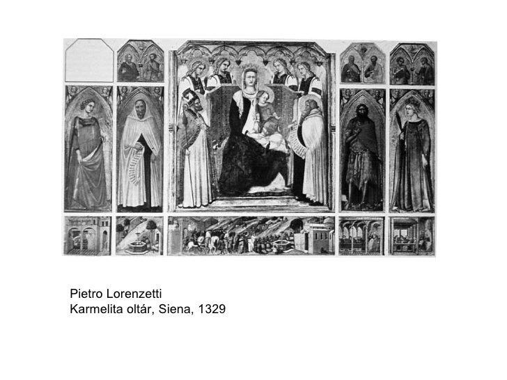 Pietro Lorenzetti Karmelita oltár, Siena, 1329