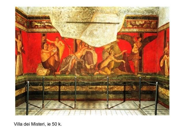 Villa dei Misteri, ie 50 k.