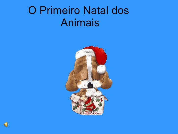 O Primeiro Natal dos  Animais