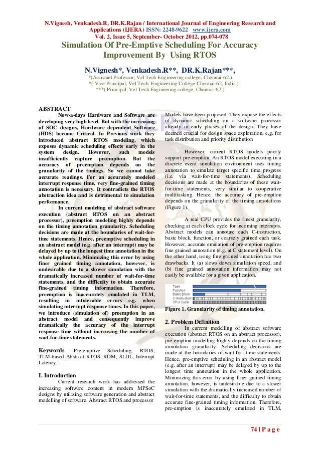 N.Vignesh, Venkadesh.R, DR.K.Rajan / International Journal of Engineering Research and                  Applications (IJER...
