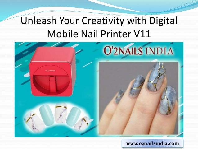 Mobile Nail Printer V11 O2nailsindia 3