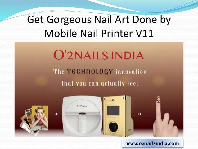 Unleash Your Creativity With Digital Mobile Nail Printer V11 O2nailsindia 4