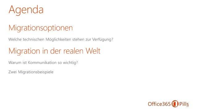 Office 365 Migrationsstrategien Slide 2