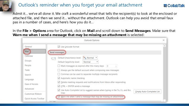 Office 365 Productivity Tips - August Anarchy