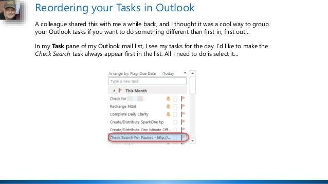 Office 365 Productivity Tips