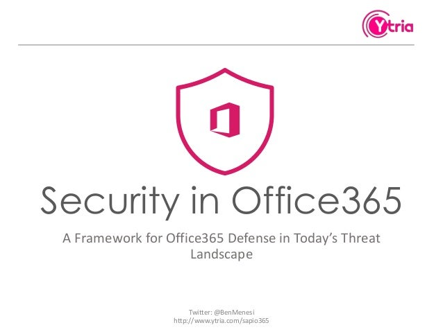 Office365 from a hacker's perspective: Real life Threats