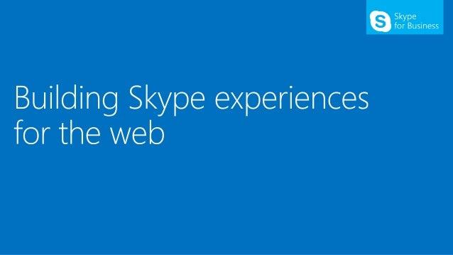 O365 summit   skype for business development final