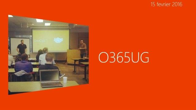 Nouveaux scenarios Hybrides Accueil Nouveautés Office 365 Office 365 Planner Conclusion