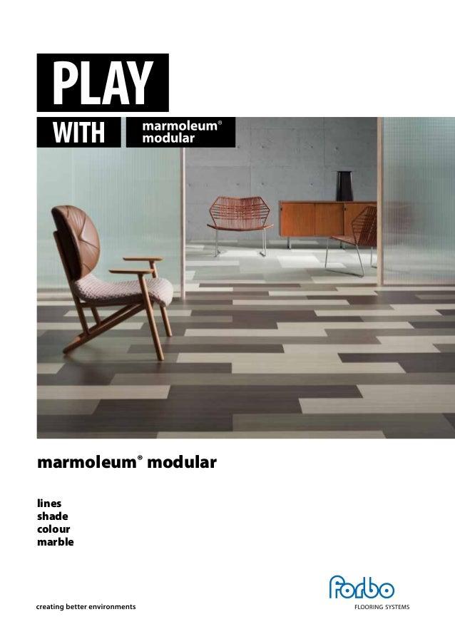 folleto marmoleum modular. Black Bedroom Furniture Sets. Home Design Ideas