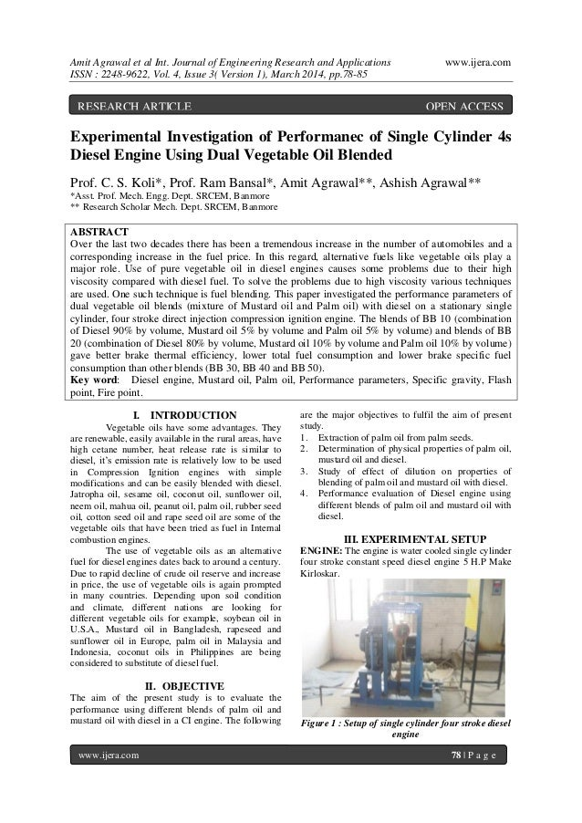 Amit Agrawal et al Int. Journal of Engineering Research and Applications www.ijera.com ISSN : 2248-9622, Vol. 4, Issue 3( ...
