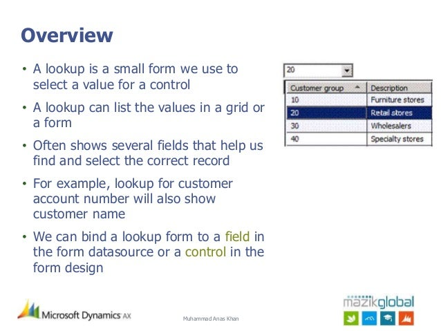 AX 2012: All About Lookups!