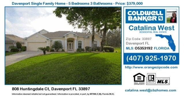 Davenport Single Family Home - 5 Bedrooms 3 Bathrooms - Price:  $379,000  _. >,. ~.'¢v xx j . '--V;                       ...
