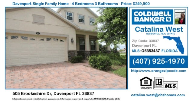 Homes for Sale in Davenport - 505 Brookeshire Dr, Davenport FL 33837