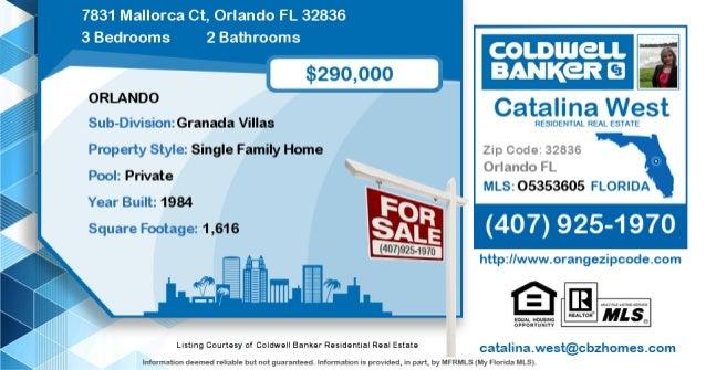 Homes For Sale In Orlando 7831 Mallorca Ct Orlando Fl 32836