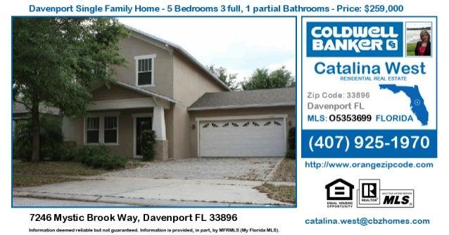 Homes for Sale in Davenport - 7246 Mystic Brook Way, Davenport FL 33896