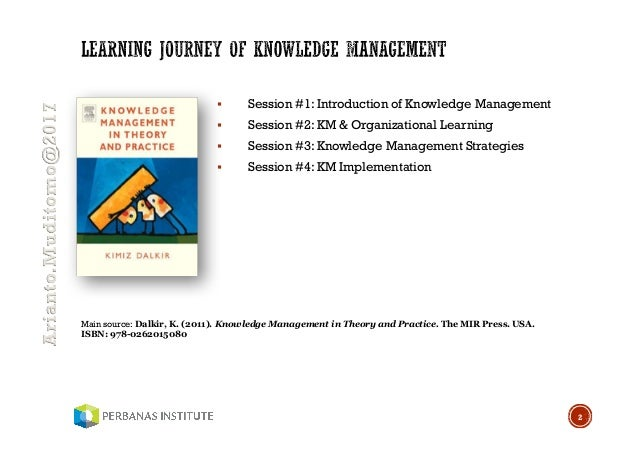 Knowledge Management In Theory And Practice 2nd Edition Pdf