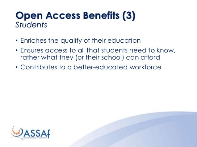 • Enriches the quality of their education • Ensures access to all that students need to know, rather what they (or their s...