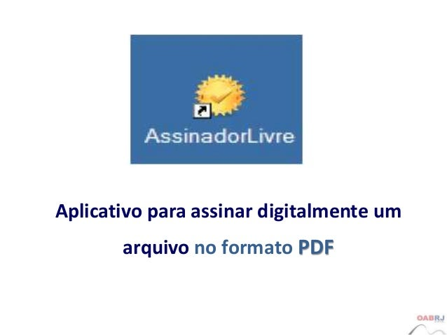assinador digital gratuito