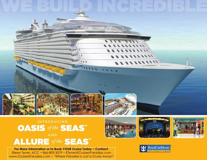 INTRODUCING                                                SM       OASIS              of the   SEAS                      ...