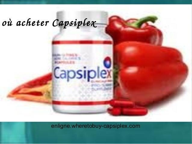 enligne.wheretobuy-capsiplex.comoùacheterCapsiplex