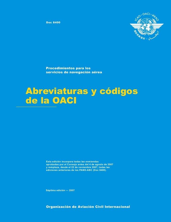 Publicado por separado en español, francés, inglés y ruso, por la Organización de Aviación Civil Internacional. Toda lacor...
