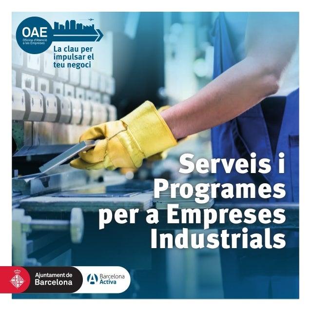 Serveis i Programes per a Empreses Industrials
