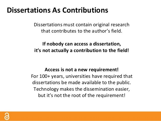 open access dissertations