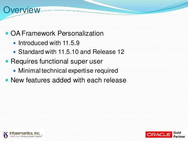 oaf personalization examples rh slideshare net oracle application framework personalization guide 12.2.6 Application Integration Framework
