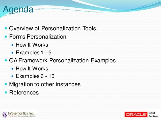 oaf personaliztion examples rh slideshare net