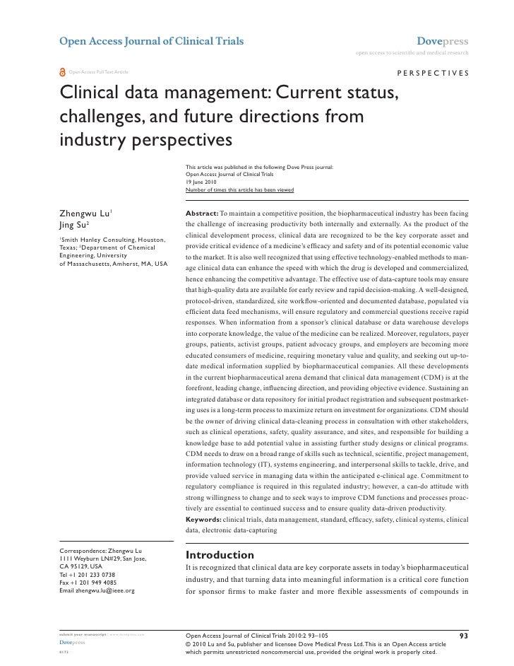 Open Access Journal of Clinical Trials                                                                                    ...