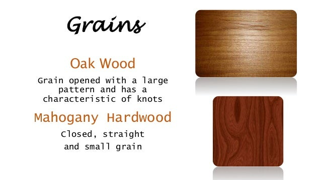 Oak Hardwood Vs Mahogany
