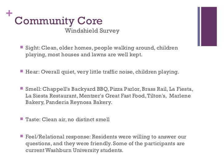 Oakland Community Assessment