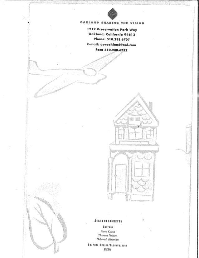 Oakland Strategic Plan Progress Report 1996 1998