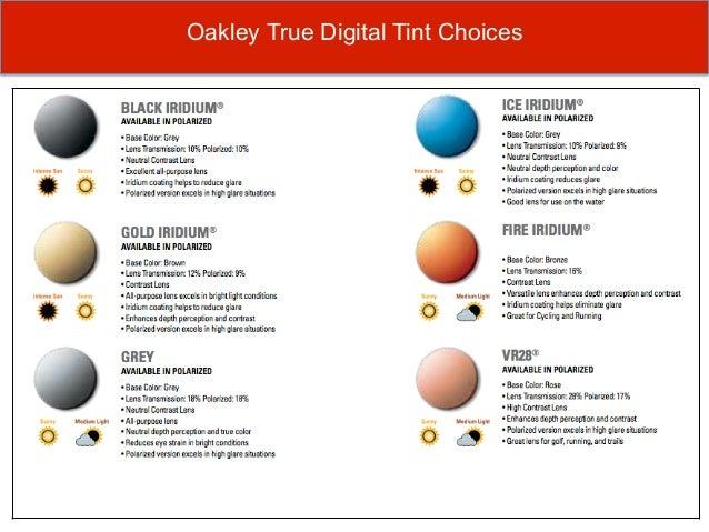 prescription oakley lenses ks7o  Oakley True Digital Tint Choices Cont
