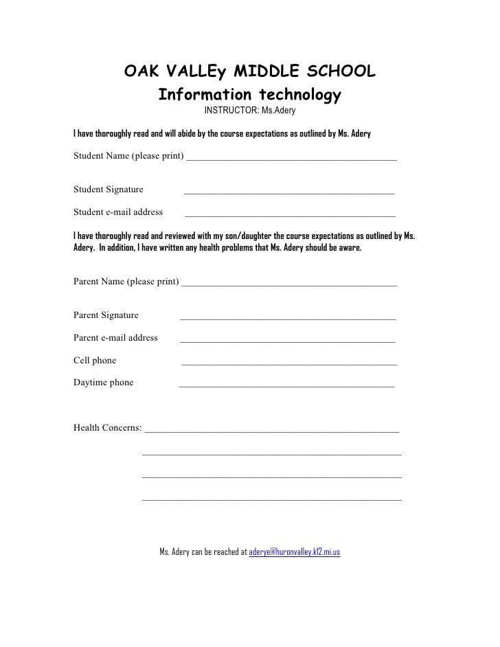 OAK VALLEy MIDDLE SCHOOL                   Information technology                                        INSTRUCTOR: Ms.Ad...