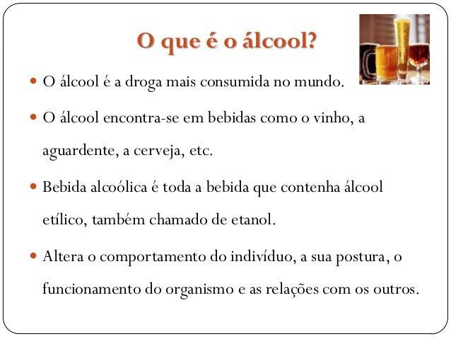 Prevenção de alcoolismo de artigo