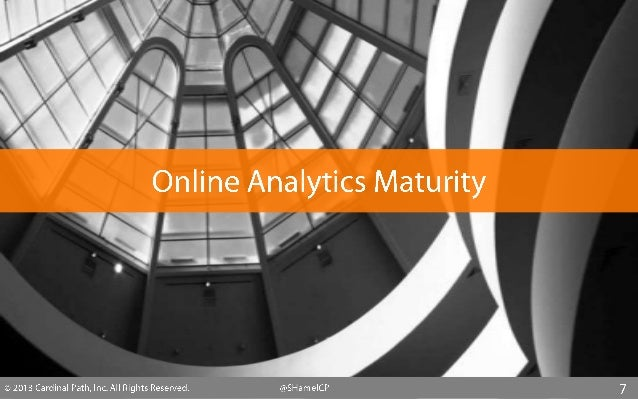 How is your online analytics team structured?