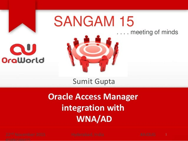 Oracle Access Manager Integration with Microsoft Active Directory for…