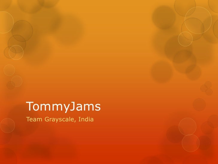 TommyJamsTeam Grayscale, India