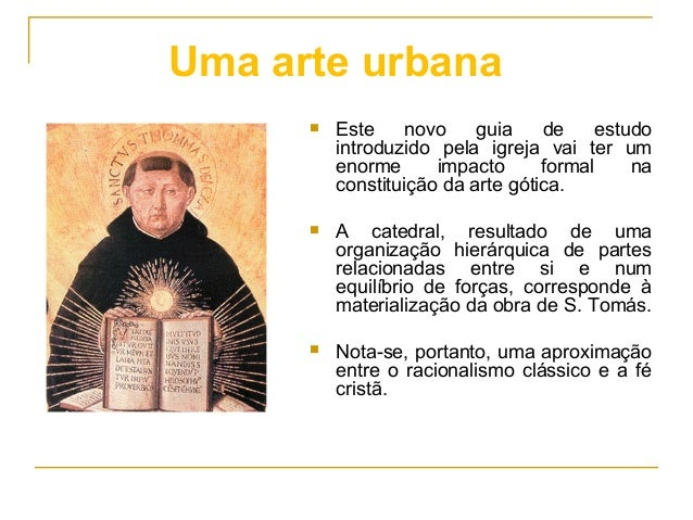  Este novo guia de estudo introduzido pela igreja vai ter um enorme impacto formal na constituição da arte gótica.  A ca...